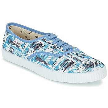 Topánky Nízke tenisky Victoria INGLES PALMERAS Modrá
