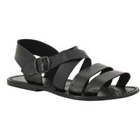 Topánky Ženy Sandále Gianluca - L'artigiano Del Cuoio 508 U NERO CUOIO nero
