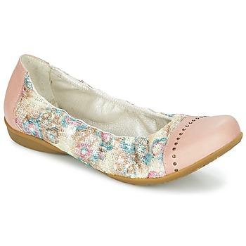 Topánky Ženy Balerínky a babies Dkode FARIS Ružová