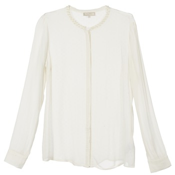 Oblečenie Ženy Košele a blúzky Cream PANSY Krémová