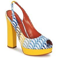Topánky Ženy Sandále Missoni XM005 Žltá / Modrá