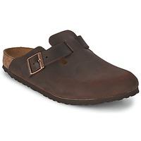 Topánky Muži Nazuvky Birkenstock BOSTON Hnedá
