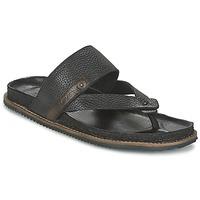 Topánky Muži Sandále Levi's CHABOT FLIP FLOP Čierna