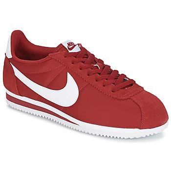 Topánky Muži Nízke tenisky Nike CLASSIC CORTEZ NYLON červená