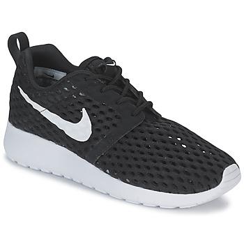 Topánky Chlapci Nízke tenisky Nike ROSHE ONE FLIGHT WEIGHT BREATHE JUNIOR čierna
