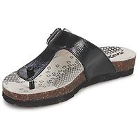 Topánky Dievčatá Žabky Kickers DITIK Čierna