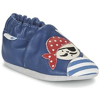 Topánky Chlapci Detské papuče Robeez JOLLY PEG Modrá