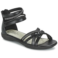 Topánky Dievčatá Sandále Wildflower GRIMSTAD čierna
