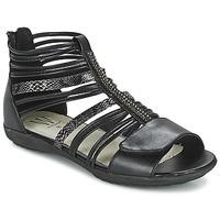 Topánky Dievčatá Sandále Wildflower HAMAR čierna