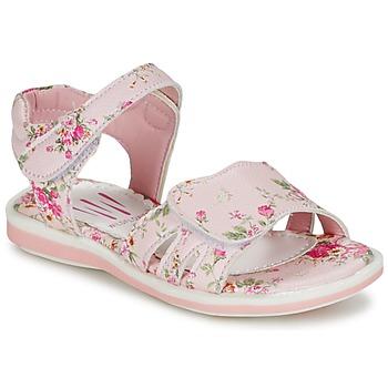 Topánky Dievčatá Sandále Wildflower KONGSBERG Ružová