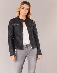 Oblečenie Ženy Kožené bundy a syntetické bundy Only BANDIT Čierna