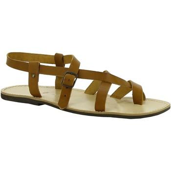 Topánky Ženy Sandále Gianluca - L'artigiano Del Cuoio 530 U CUOIO LGT-GOMMA Cuoio