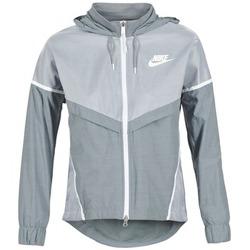 Oblečenie Ženy Vetrovky a bundy Windstopper Nike TECH WINDRUNNER šedá