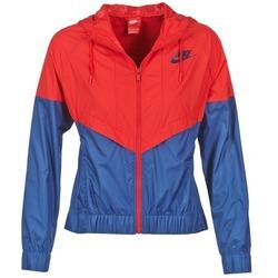 Oblečenie Ženy Vetrovky a bundy Windstopper Nike WINDRUNNER Námornícka modrá / červená