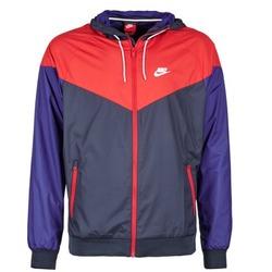 Oblečenie Muži Vetrovky a bundy Windstopper Nike WINDRUNNER Námornícka modrá / červená / Modrá