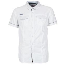 Oblečenie Muži Košele s krátkym rukávom Deeluxe ISLANDO Biela