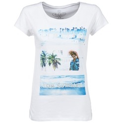 Oblečenie Ženy Tričká s krátkym rukávom Deeluxe TRYP GIRL Biela