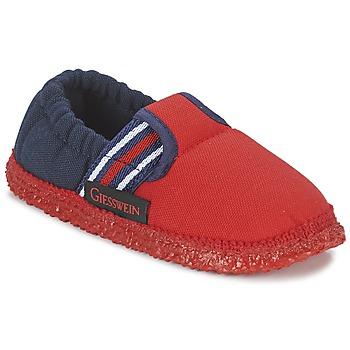 Topánky Chlapci Papuče Giesswein AICHACH Červená / Námornícka modrá