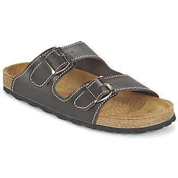 Topánky Muži Šľapky Casual Attitude TERTROBAL Hnedá