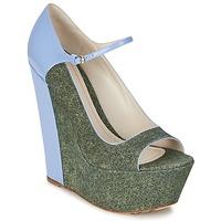 Topánky Ženy Lodičky John Galliano S54261 Modrá / Zelená