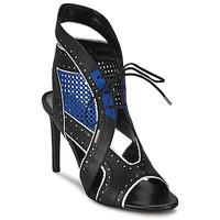 Topánky Ženy Sandále Roberto Cavalli XPS254-PZ448 Čierna / Modrá