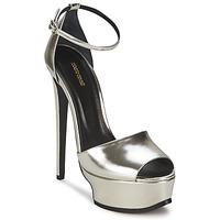 Topánky Ženy Sandále Roberto Cavalli XPS260-PZ048 Šedá / Strieborná