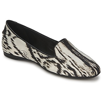 Topánky Ženy Balerínky a babies Roberto Cavalli XPS280-FLA35 Béžová / Čierna