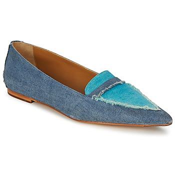Topánky Ženy Mokasíny Castaner KATY Modrá / Jean