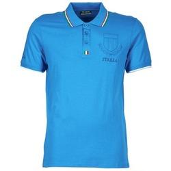 Oblečenie Muži Polokošele s krátkym rukávom Kappa OMER Modrá