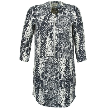 Oblečenie Ženy Krátke šaty Stella Forest EDERI Námornícka modrá / Biela