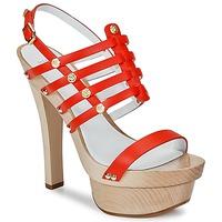 Topánky Ženy Sandále Versace DSL943T Červená