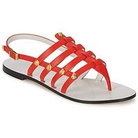 Topánky Ženy Sandále Versace DSL944C Koralová