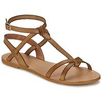 Topánky Ženy Sandále So Size BEALO Hnedá