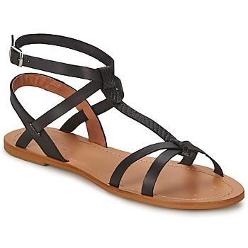 Topánky Ženy Sandále So Size BEALO Čierna