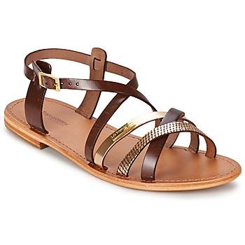 Topánky Ženy Sandále Les Tropéziennes par M Belarbi HAPAX Hnedá / Zlatá