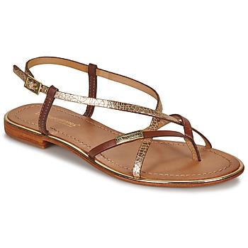 Topánky Ženy Sandále Les Tropéziennes par M Belarbi MONACO Svetlá hnedá / Zlatá