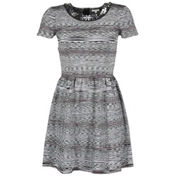 Oblečenie Ženy Krátke šaty Manoush BIJOU ROBE Čierna / Šedá