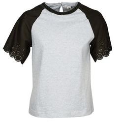 Oblečenie Ženy Tričká s krátkym rukávom Manoush FANCY Šedá / Čierna