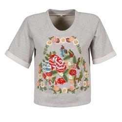Oblečenie Ženy Tričká s krátkym rukávom Manoush GIPSY šedá