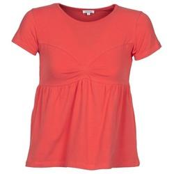 Oblečenie Ženy Tričká s krátkym rukávom Manoush MOLLETON Koralová