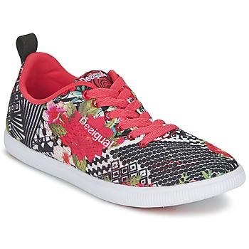 Topánky Ženy Nízke tenisky Desigual FUN-EVA čierna / červená