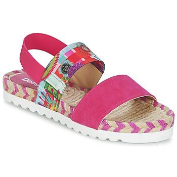 Topánky Ženy Sandále Desigual FORMENTERA Ružová
