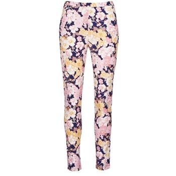 Oblečenie Ženy Nohavice päťvreckové Gant 414705 Ružová / Modrá