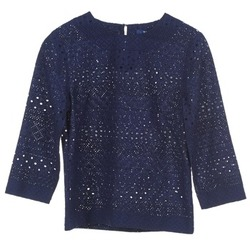 Oblečenie Ženy Blúzky Gant 431951 Modrá