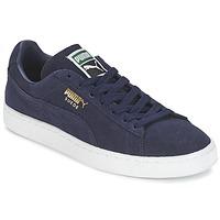 Topánky Nízke tenisky Puma SUEDE CLASSIC + Námornícka modrá