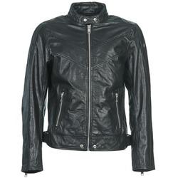 Oblečenie Muži Kožené bundy a syntetické bundy Diesel L-REED čierna