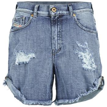 Oblečenie Ženy Šortky a bermudy Diesel DE SCOTT Modrá
