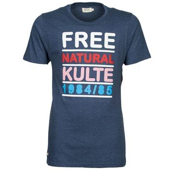 Oblečenie Muži Tričká s krátkym rukávom Kulte AUGUSTE FREE Modrá