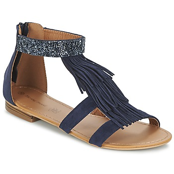 Topánky Ženy Sandále Moony Mood EWAL Námornícka modrá