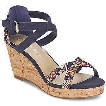 Topánky Ženy Sandále Moony Mood EMARLENE Námornícka modrá